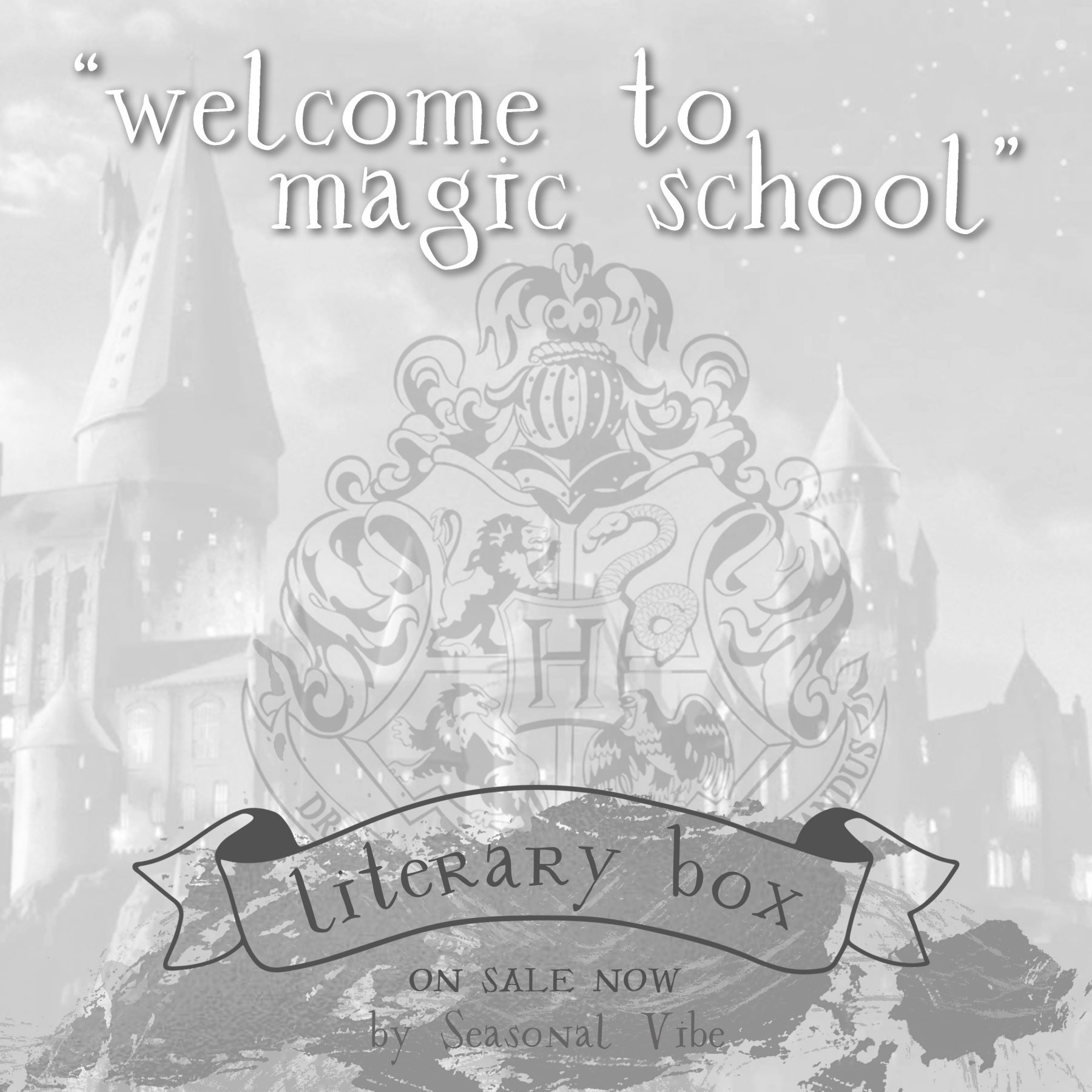 caja literaria harry potter
