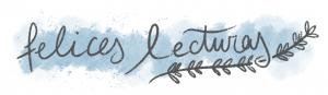 Imagen escrita con caligrafía Felices lecturas con un ramito de lavanda dibujado